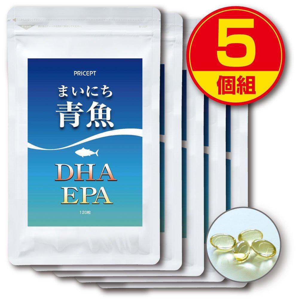 プリセプト まいにち青魚DHAEPA 120粒 (5個組) B00WK4M9XA