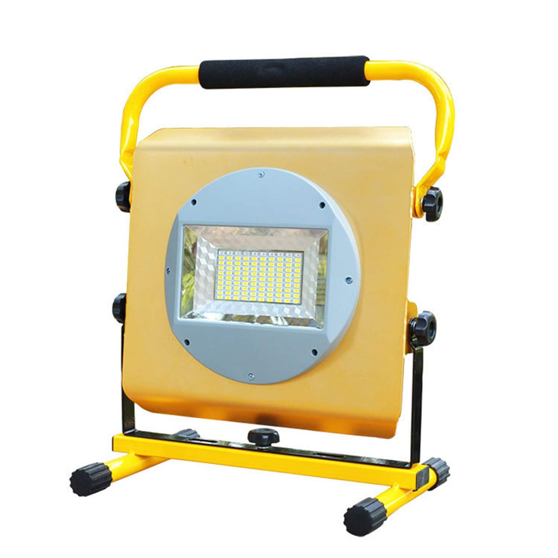 EFGS Foco Lámpara Proyector LED 100W, Luz Portátil para Trabajo de ...