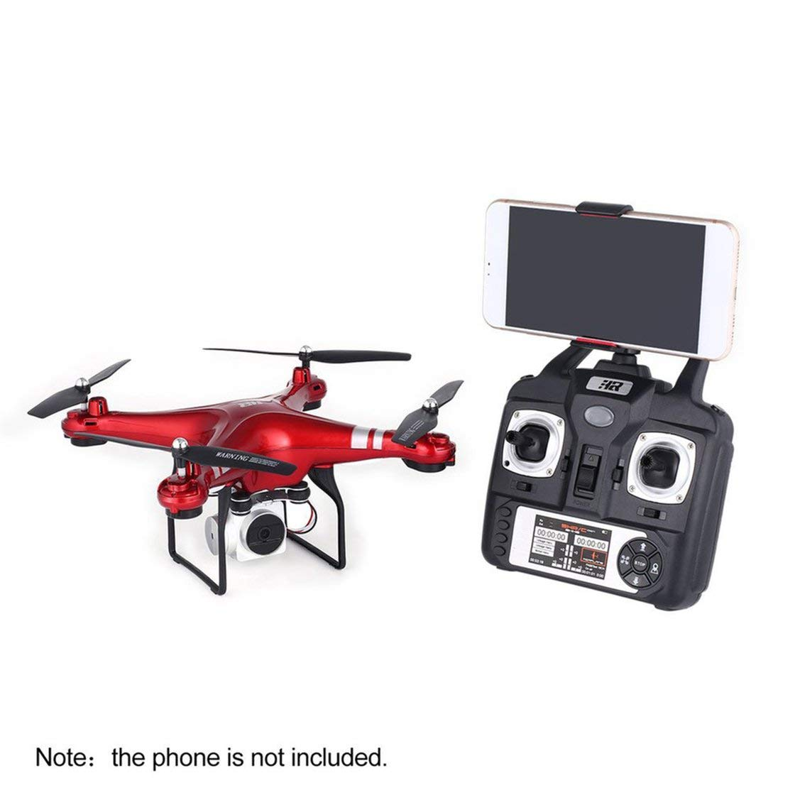 Hermosairis SH5H 2.4g FPV-Drohne mit 1080p-Weitwinkel-HD-Wifi-Kamera-Live-Video-Headless-Modus-Schwerkraft-Sense-Return-Taste RC Quadcopter