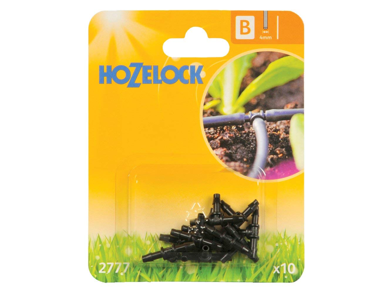Pack of 10 3 X 4 mm T-Piece