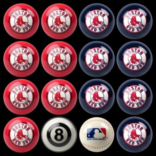 - Imperial Boston Red Sox Billiard Ball Set