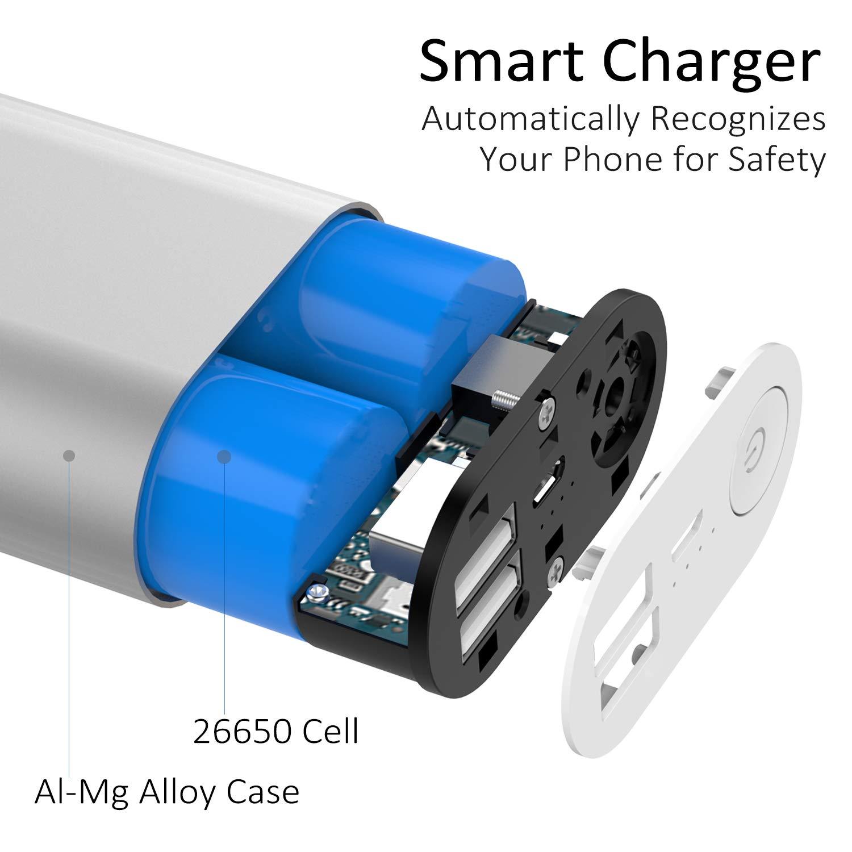 Hame Power Bank H16 11000 Mah Iphone Charger Ultra Club Car Drive Battery Wiring Diagram Compact External Portable Usb For 6 5s 5c 5 Ipad Air Mini