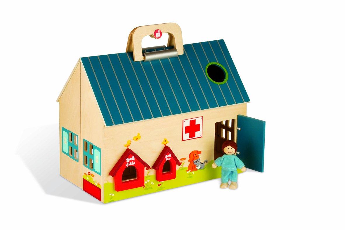 品質は非常に良い Janod - j06512 - - 木のおもちゃ - - モービルシティ獣医診療所 j06512 B003HGHHBE, 奈良大仏 芳月堂:988cb5e8 --- a0267596.xsph.ru
