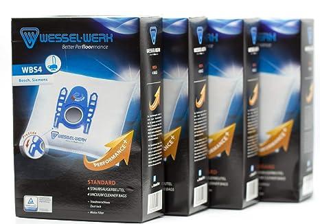 Amazon.com: Wessel Werk 109083308 bolsas de aspiradora wesse ...