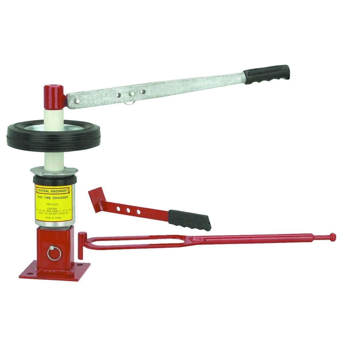 GHP 4'' to 12'' Adjustable Small Car Maintentance Mini Tire Changer Tool