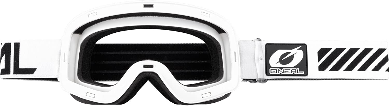 Oneal B-50 Force Mirror Silver Motocross Goggles