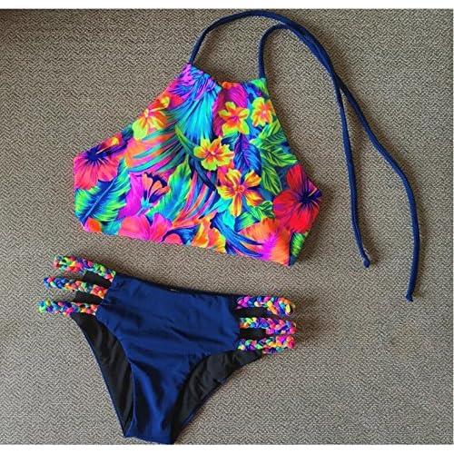 63f37f0afeb7 La manifestación de la confortable   bikini moda bañador también está  impreso bañador ...