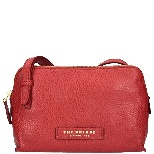 608bb81713 The Bridge Plume Soft Donna Borsa a tracolla pelle 22 cm rosso ribes:  Amazon.it: Scarpe e borse