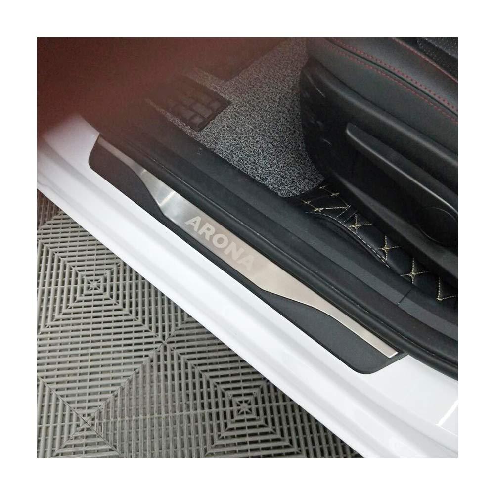 LFOTPP Edelstahl Einstiegsleisten Abdeckung f/ür Arona SUV T/ürschweller 4 St/ück
