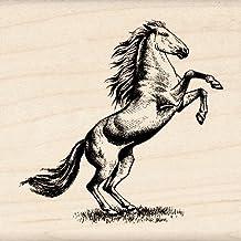 Inkadinkado Horse Wood Stamp