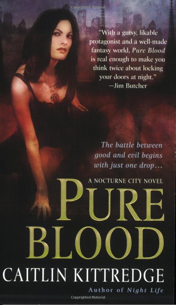 Pure Blood (Nocturne City, Book 2) pdf epub