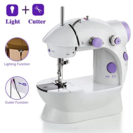 Amazon Mini Sewing Machine FOME Portable Sewing Machine Enchanting Battery Operated Sewing Machine
