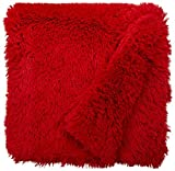 BESSIE AND BARNIE Lipstick Luxury Shag Ultra Plush Faux Fur Pet, Dog, Cat, Puppy Super Soft Reversible Blanket (Multiple Sizes)