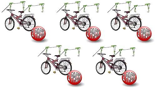 Bike Lane Bicycle Garage Storage Lift Bike Hoist 100 LB Capacity Heavy Duty
