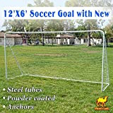 Strong Camel 12' x 6' Soccer goal With Net Football goal Sport Training Sets Ball Goals