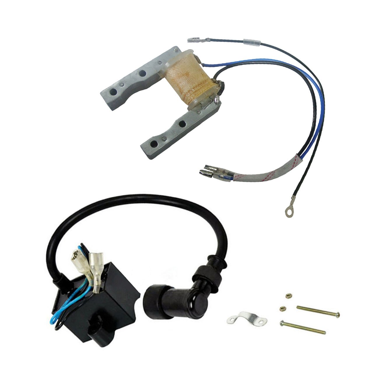 Ignition Magneto Stator/&CDI Ignition Coil For 66//80cc 2 Stroke Motorized Bicycle
