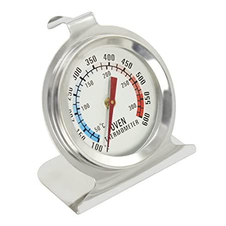 COM-FOUR® termómetro para horno de acero inoxidable como ...