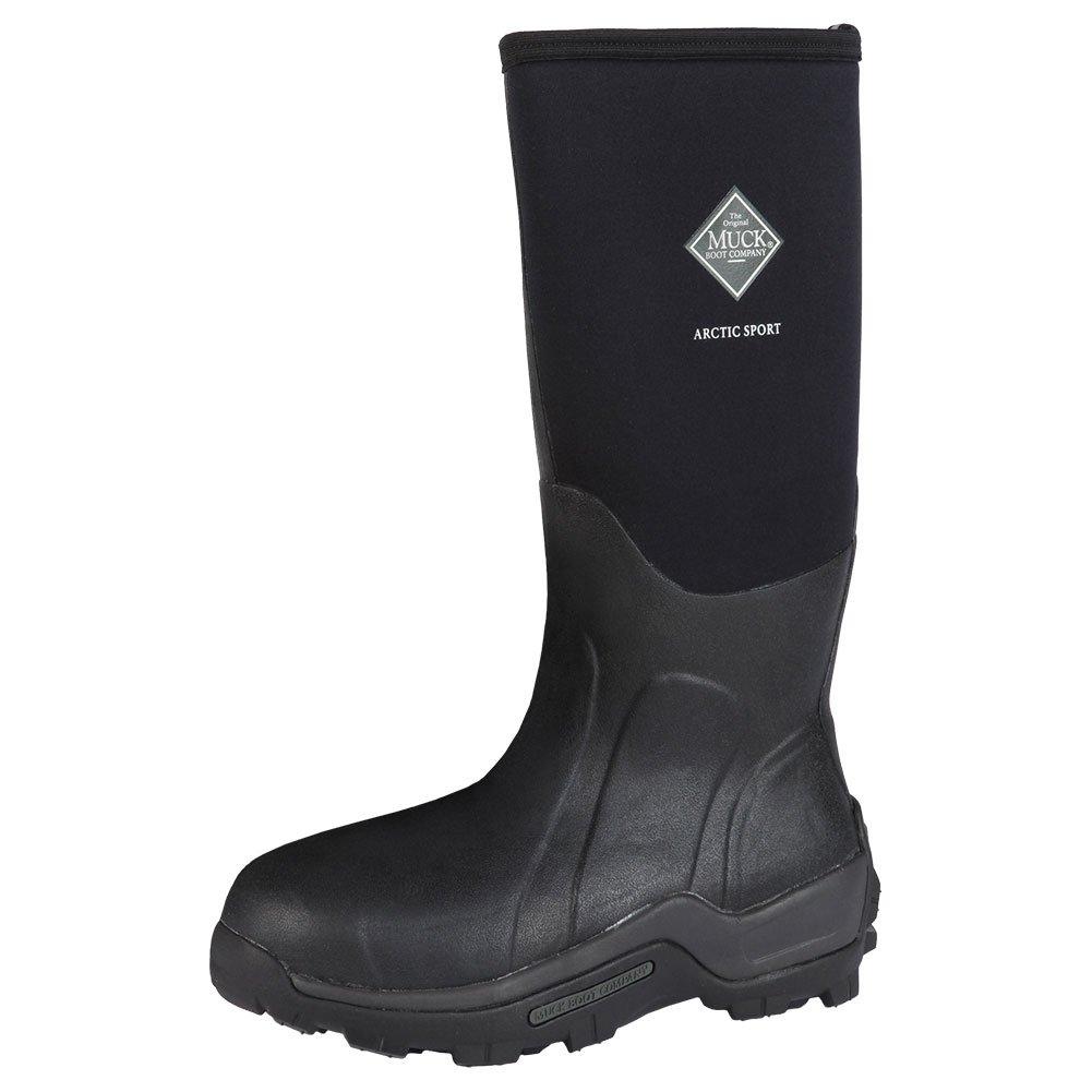 Muck Arctic Sport Rubber High Performance Men's Winter Boots, Black, 14M US