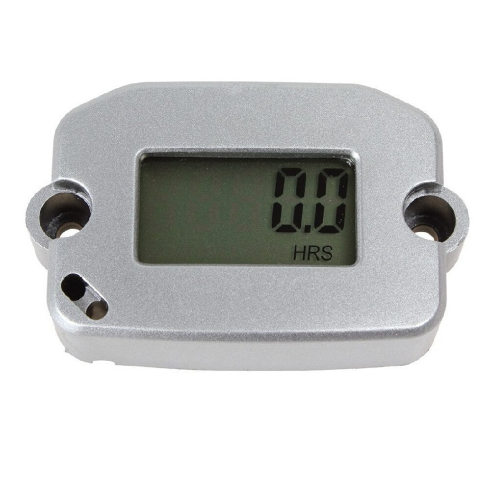 Hain Digital Lcd Inductive Tachometer Tach Hour Meter Dc To Ac Generator Wiring Diagram Motocross Rpm Resettable For Gas Engine Motorcycle Avtsnowmobile Boat