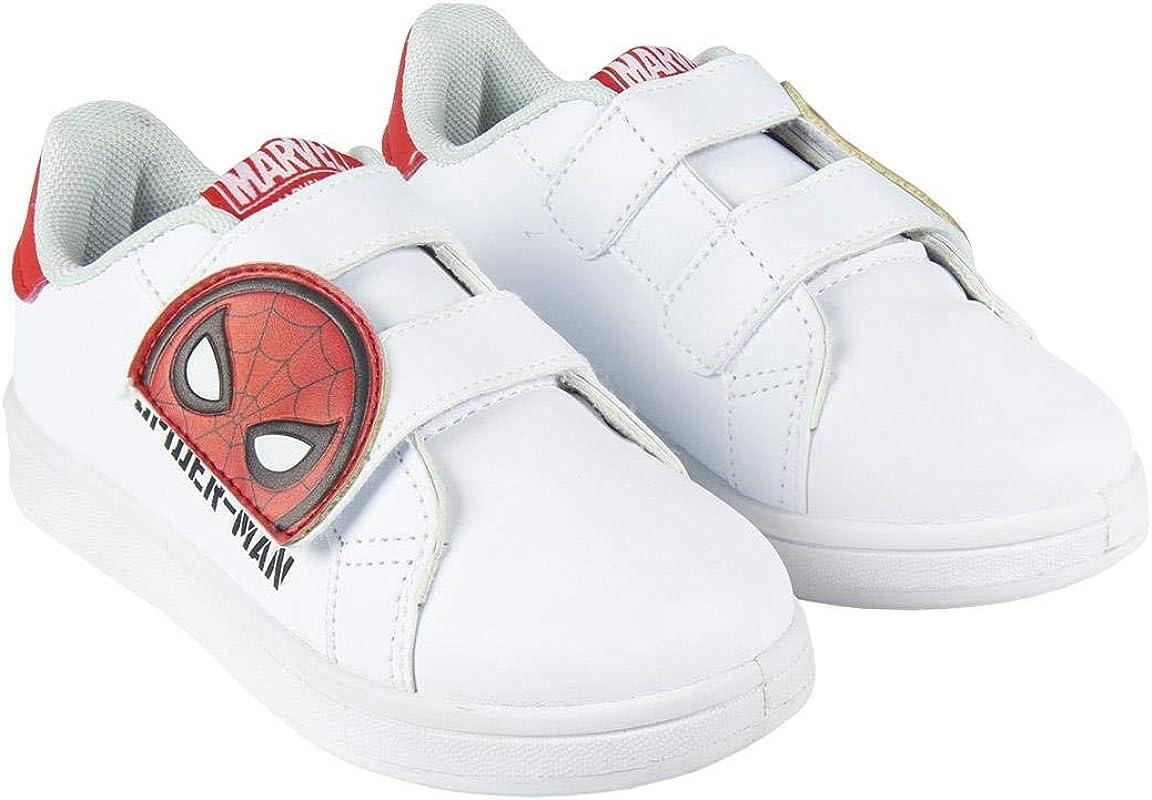 Ni/ños CERD/Á LIFES LITTLE MOMENTS Cerd/á-Zapatillas Deportivas Spiderman de Color Blanco