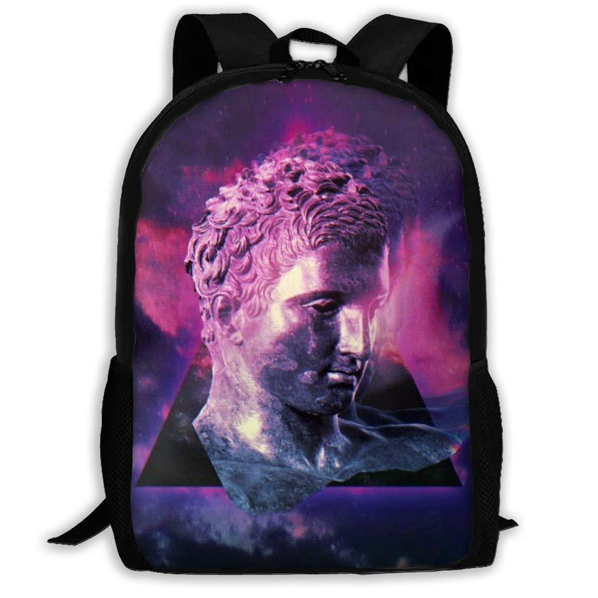 haiyingzhiyi Backpacks Girl'S Shoulder Bag Bookbags School Season The Statue Traveling Bags