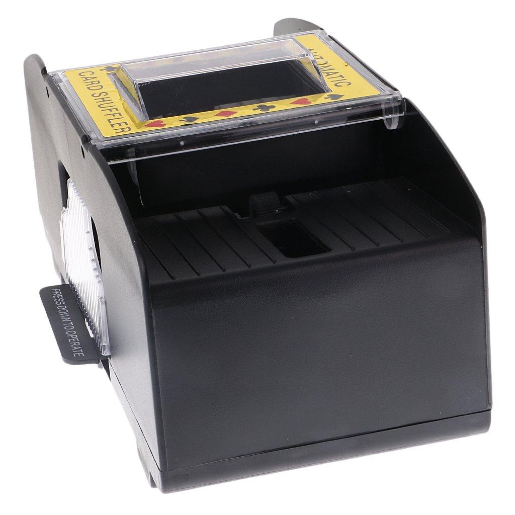 MonkeyJack Professional Automatic Playing Card Games Shuffler Shuffling 1-2 Decks Poker Sorter Mixer Machine for Party Entertainment by MonkeyJack (Image #5)