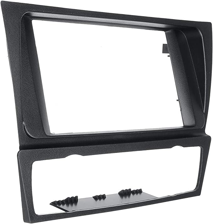 Viviance ZHVIVY 2Din Car Radio Stereo Surround Fascia Panel Plate Adapter For B-MW 3 Series E90 E91 E92 E93 04-12
