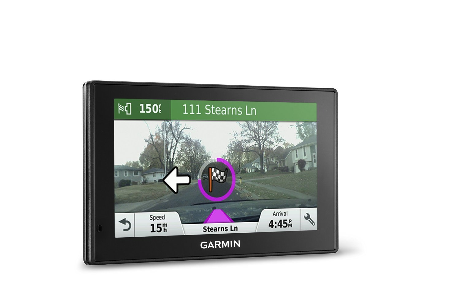 Garmin DriveAssist 50 NA LMT GPS Navigator System with Built-in Dash Cam, Camera-assisted Alerts, Lifetime Maps and Traffic, Smart Notifications, and Voice Activation (Certified Refurbished)