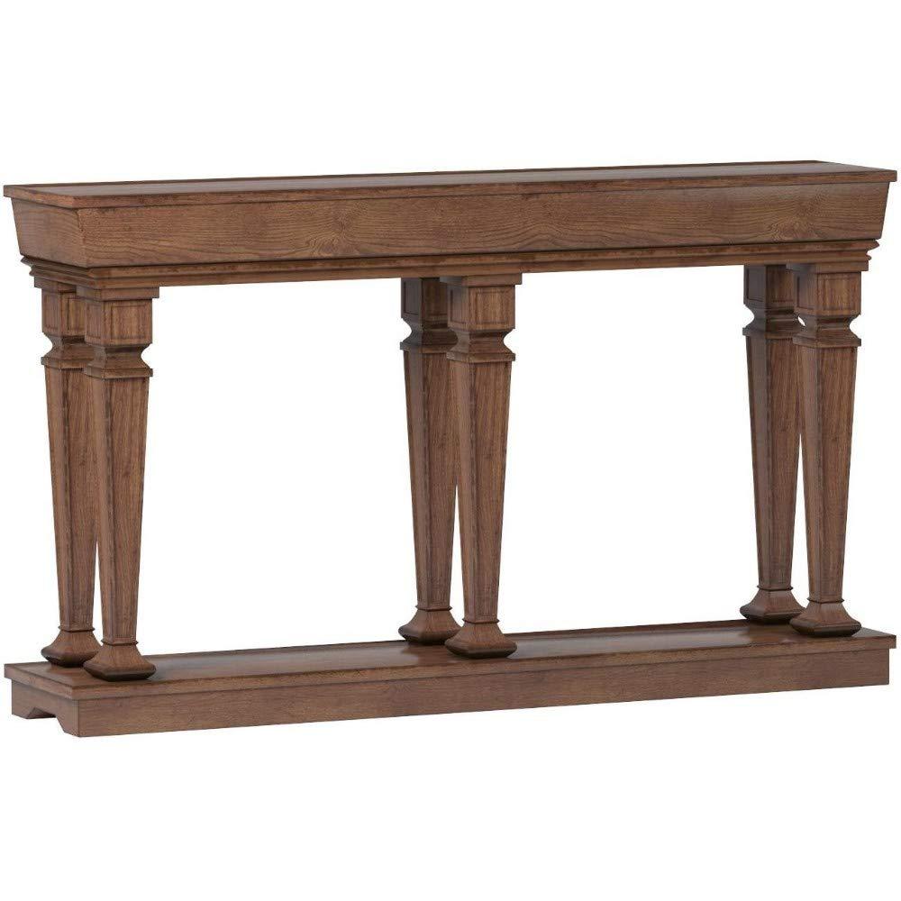 Amazon.com: Benzara BM186298 - Mesa de consola de madera con ...