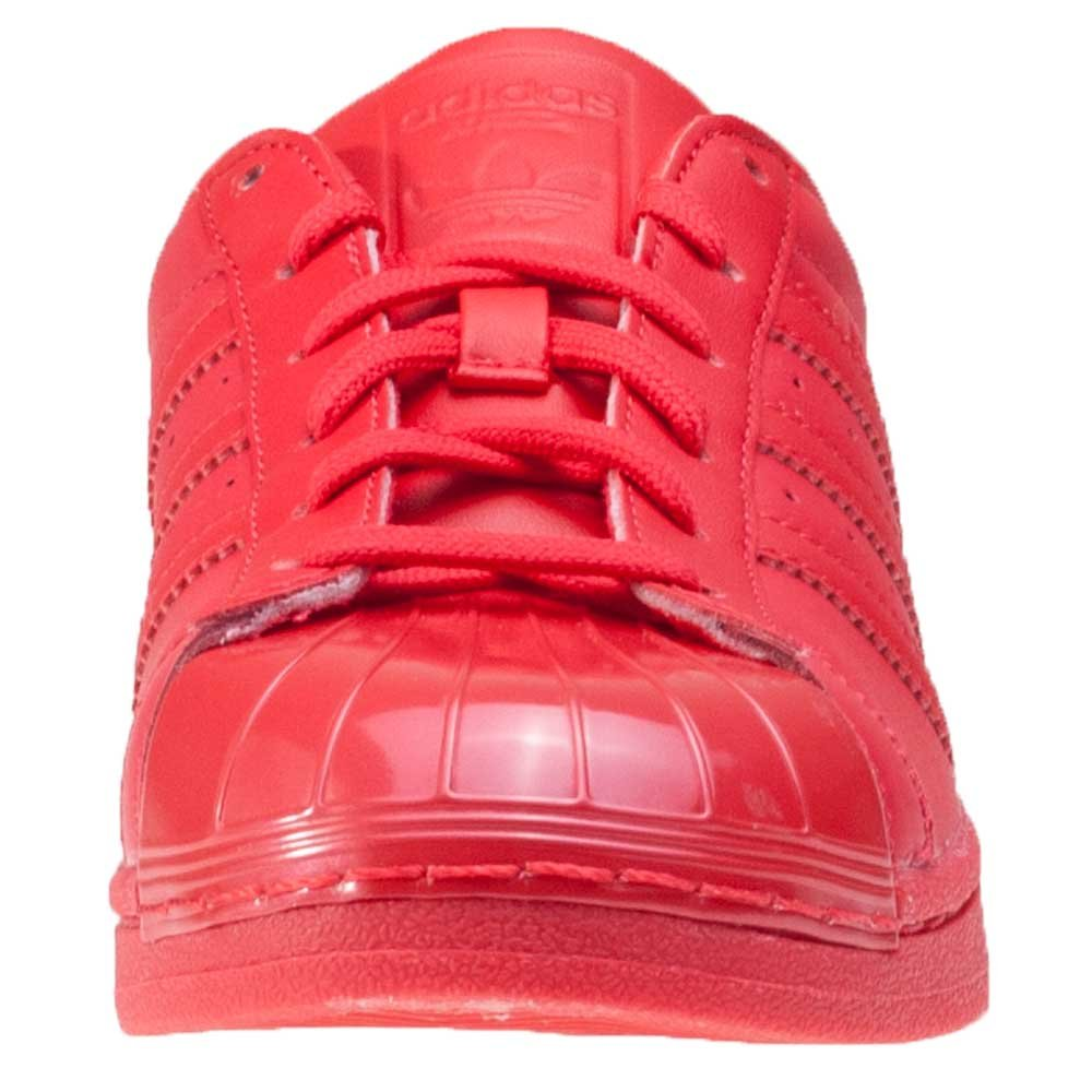 low priced 9d23e ba1e4 adidas Superstar Glossy Toe, Chaussures de Basketball Femmes, Rouge  Rayred Cblack, 44 EU  adidas  Amazon.fr  Chaussures et Sacs
