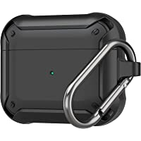 ProCase Protective Cover for AirPods 3 Case 2021, Shockproof Scratch Resistant TPU Carrying Case Skin with Keychain for…