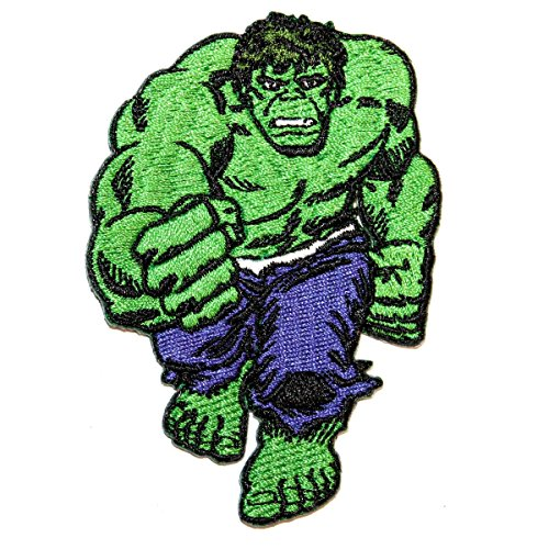 Comic Incredible Hulk - Marvel Comics Avengers The Incredible Hulk Brute Force Fist Iron On Applique Patch
