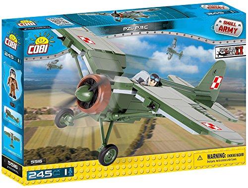 COBI 5516 PZL P.11c Small Army WW2, 245-Blocks