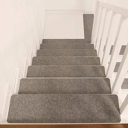 Peldaños de Escalera Alfombra Antideslizante Alfombra de Escalera autoadhesiva Lavable, Almohadillas de escaleras Interiores, Protectores de escaleras Alfombras Tapetes, 15 Unids/Set: Amazon.es: Hogar