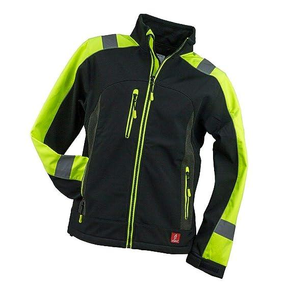 Brixton Flash Softshell Jacke Warnschutz Warnjacke Reflektierend Schutzjacke