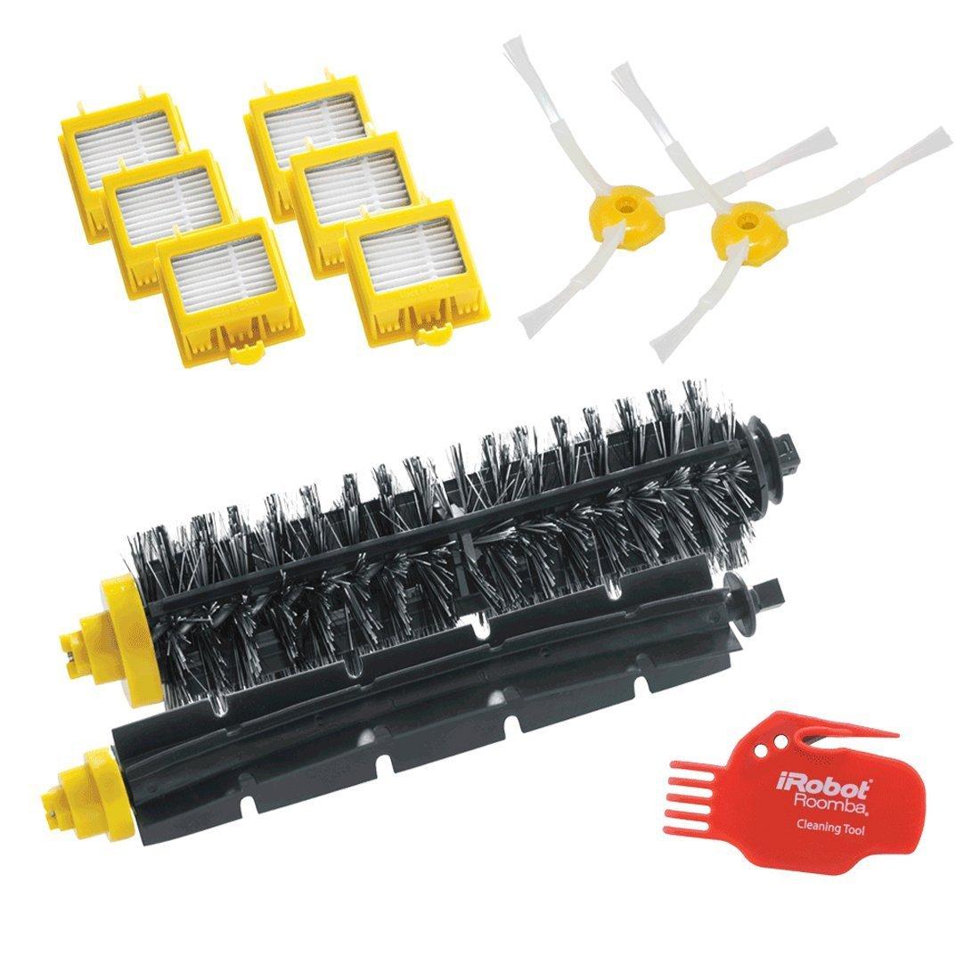iRobot 4503462 Robot aspirador Filtro y cepillo accesorio y suministro de vacío - Accesorio para aspiradora (Robot vacuum, Filtro y cepillo, Negro, Rojo, ...