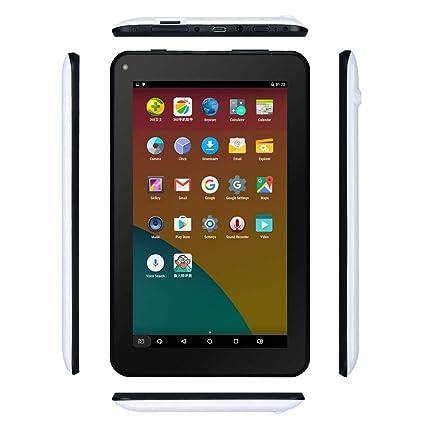 Haehne 7 Inches Tablet PC - Google Android 6 0 Quad Core, 1024 x 600  Screen, 2 0MP 0 3MP Dual Camera, 1G RAM 16GB ROM, 2800mAh, WiFi, Bluetooth