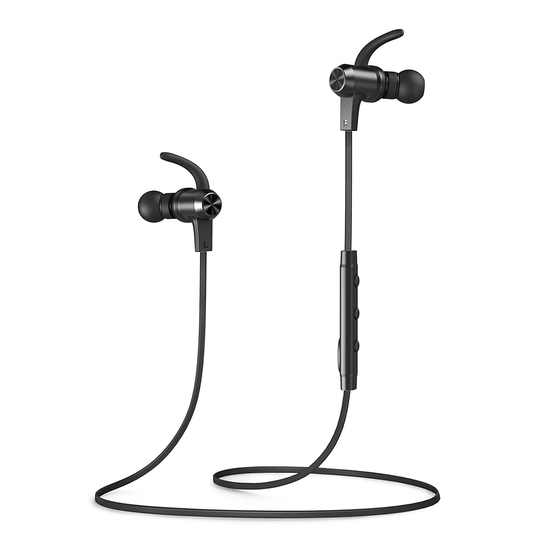 Bluetooth Headphones, VAVA MOOV 28 Wireless Headphones Sports Earphones in  Ear Earbuds with 9 Hours Playtime (IPX6 Splashproof, aptX Stereo, Magnetic