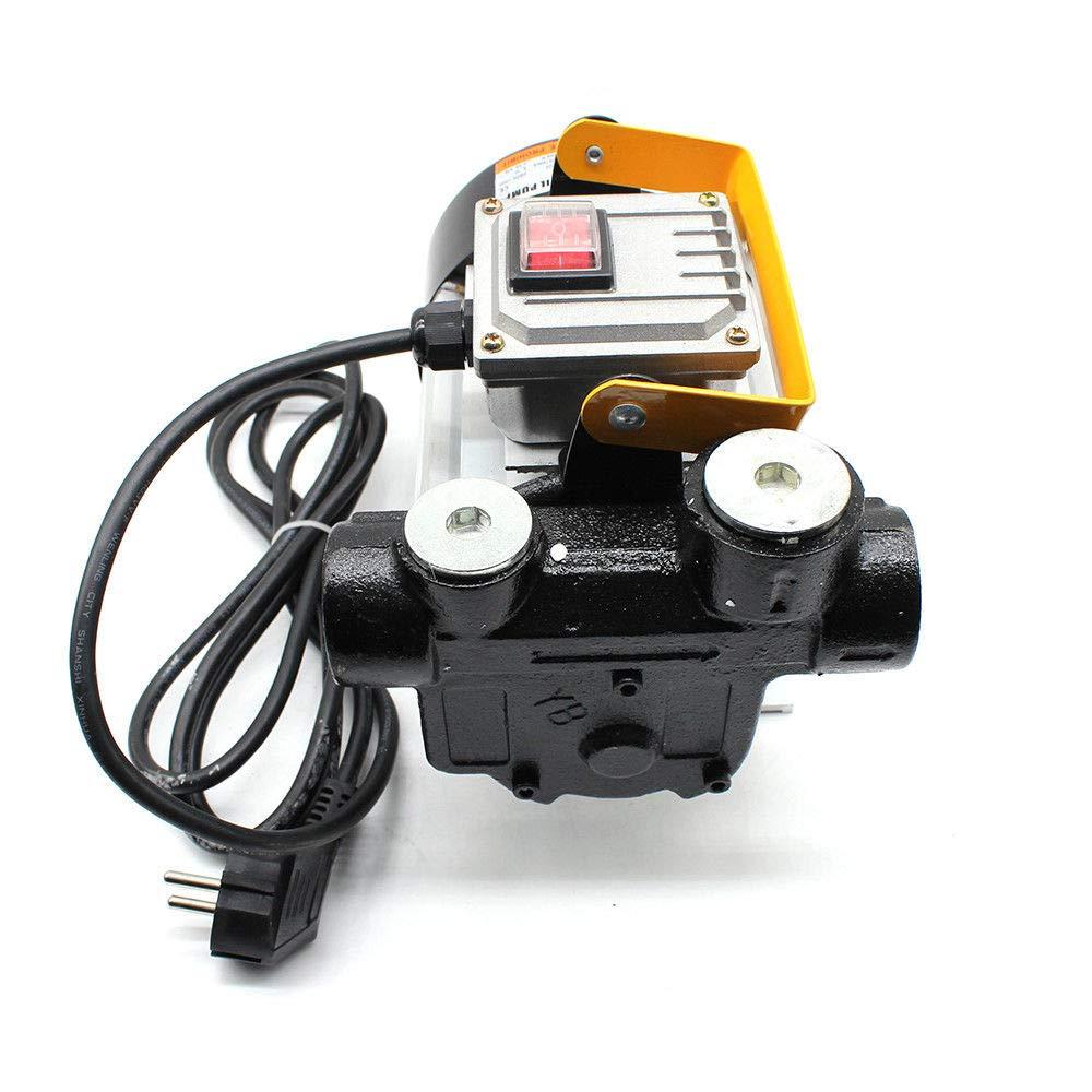 OBLLER Dieselpumpe selbstansaugend Heiz/ölpumpe Fasspumpe Diesel Kraftstoffpumpe 4m 230V