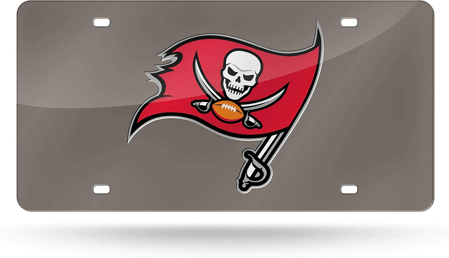 New Tampa Bay Buccaneers NFL Football League License Plate Plastic Frame Car Tag