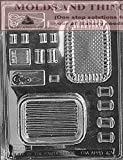 SEWING KIT POUR BOX Chocolate Candy Mold With Candy Making Instruction - set of 2