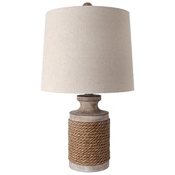 Lámpara de mesa industrial romántica, lámpara de escritorio ...