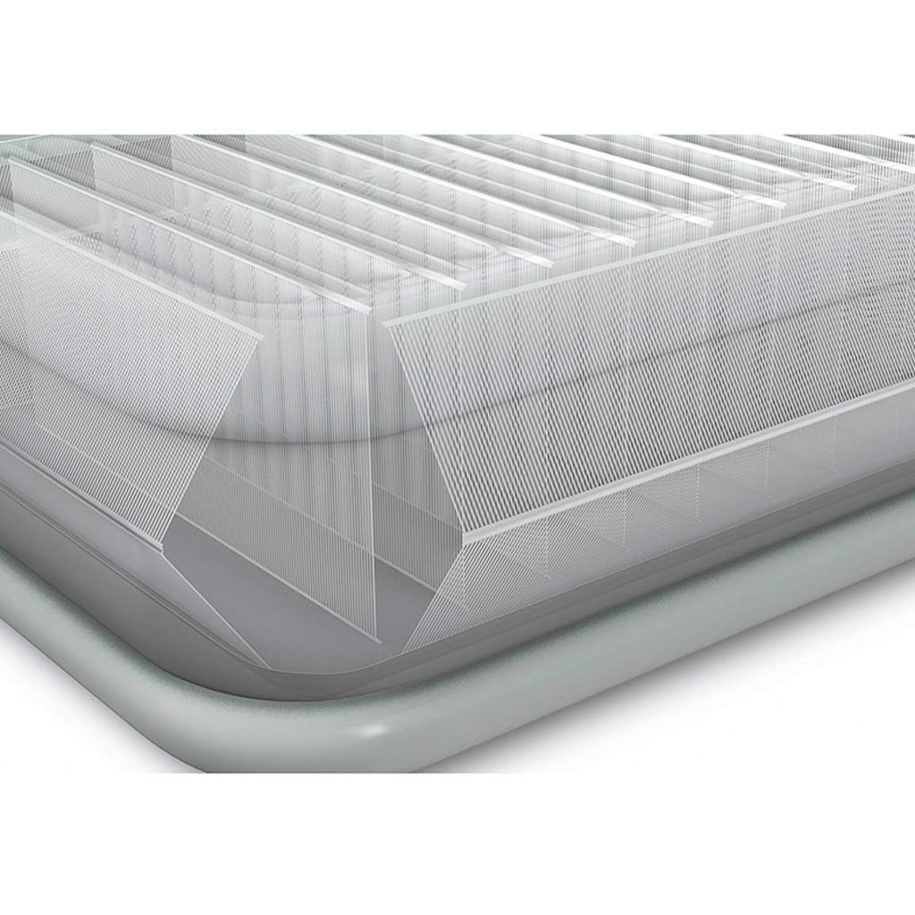 Lilongjiao Inflatable Bed Air Bed Inflatable Mattress Home Double Thickening High Double Household High Bed Flocking Air Bed 20015245cm by Lilongjiao (Image #4)
