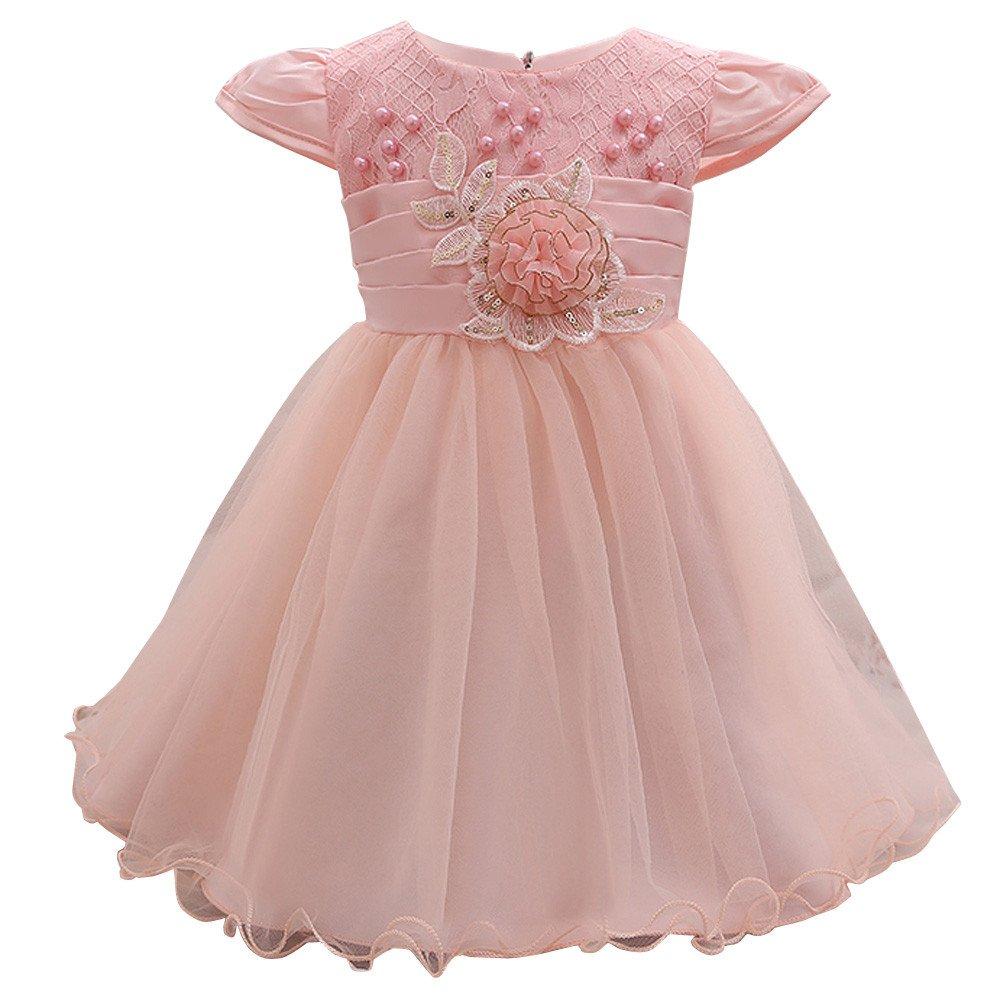 Vestido de niña de flores Vestido de dama de honor de la fiesta del ...
