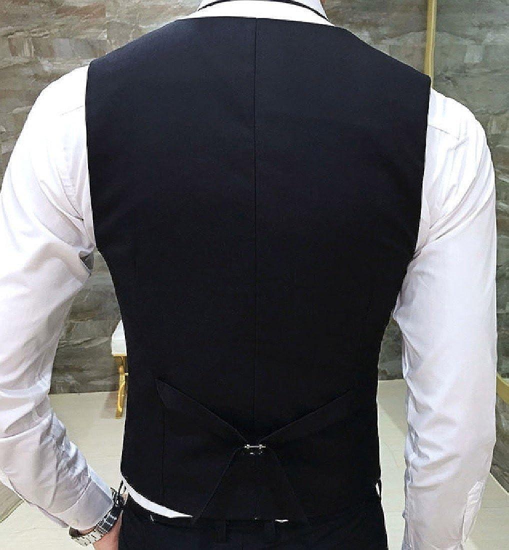 Nicelly Mens Leisure Business Blazer Fit Career Skinny Vest Coats Jacket