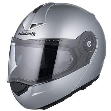 Motocicleta de casco Schuberth C3 plata Pro XL 60/61