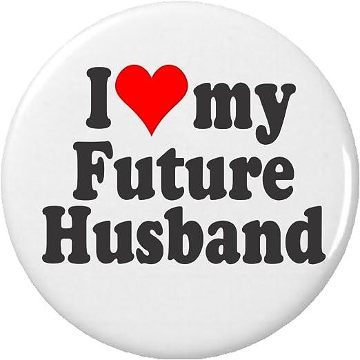 Amazoncom I Love My Future Husband 225 Keychain Heart Bride To
