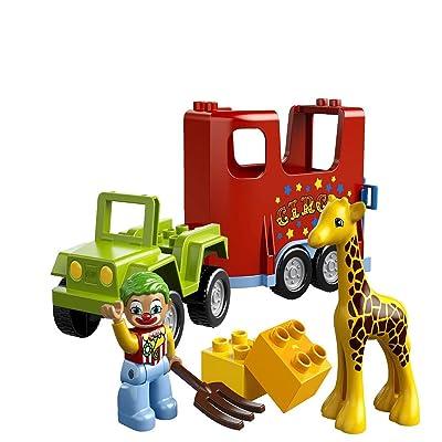 LEGO Duplo LEGOVille Circus Transport 10550: Toys & Games