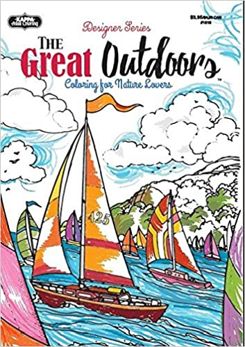Adult Coloring - Designer Series - The Great Outdoors: Kappa Books ...