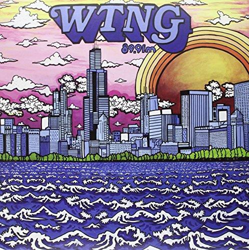 WTNG 89.9 fm Solid Bronze Vinyl